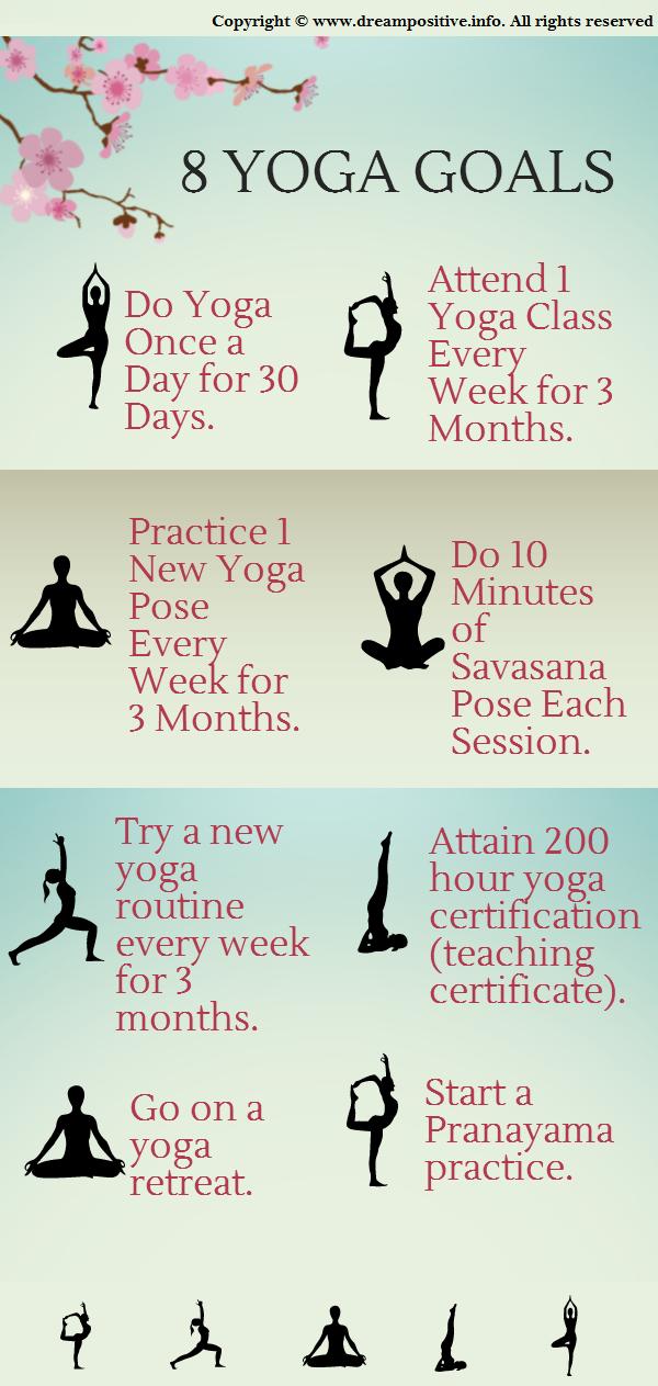8 yoga practice goals